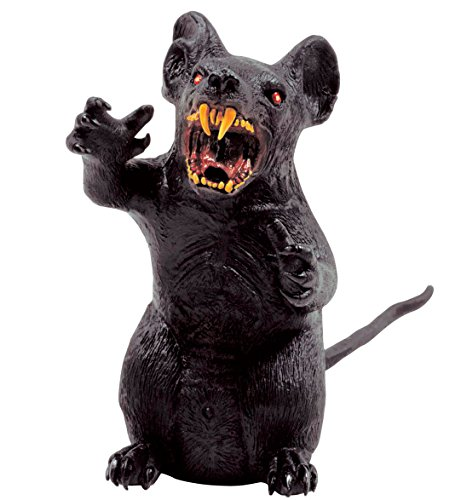 Widmann vd-wdm6821g Riesen Ratten, Schwarz, 35cm (Riesen Ratte Kostüm)