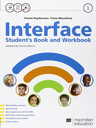 Interface. Student's book-Workbook-Citizens. Per la Scuola media. Con e-book. Con espansione online: 1