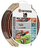 Gardena 18044 Set, Standard, 15 mm (5/8'), 20 m avec accessoires d'arrosage