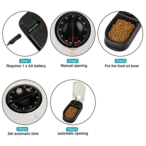 Zoom IMG-3 bigwing style distributore automatico cibo