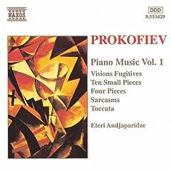 4 Pieces, Op. 4: II. Ardour: Molto allegro