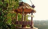 Vogelfutterstelle Futterhäuschen, Vogelfutter Platz, Rund