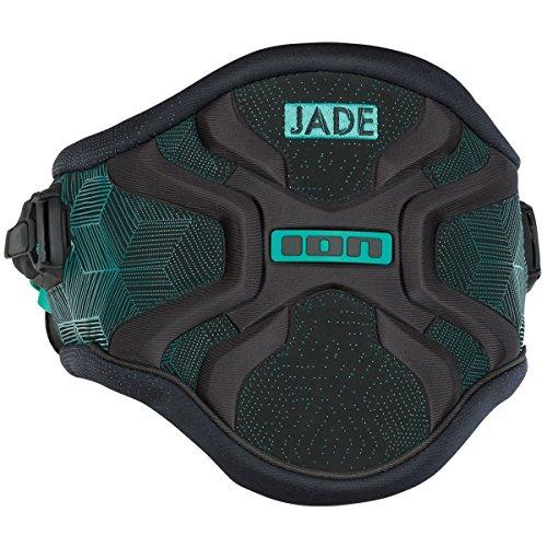ION Jade Windsurf Hüfttrapez Women black/seaweed M 38