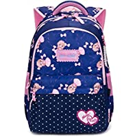 Reelay mee Nylon 19L Light Weight Royal Blue and Pink Backpack