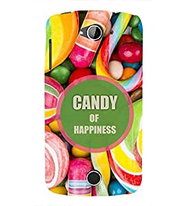 Fuson Premium Candy Of Happiness Printed Hard Plastic Back Case Cover for Acer Liquid Z530S