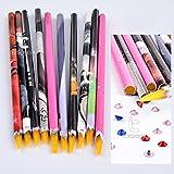 Best Wax Pens - 1pc Nail Art Dotting Pen Wax Pencil Picking Review