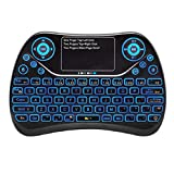 Vacally Mini Wireless Keyboard Touchpad Rechargeable Flying Mouse 2.4Ghz Multi-Function Ergonomic Multi-Function Mouse
