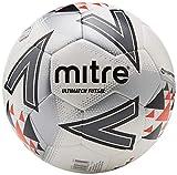 Mitre Ultimatch Futsal, Calcio Unisex, White/Red/Black, 4