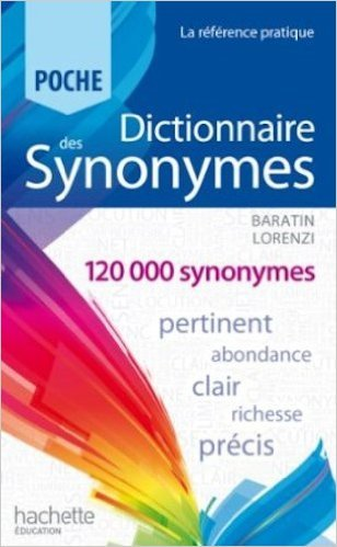 Dictionnaire des synonymes de Collectif ( 8 mai 2013 )