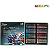 Mungyo Gallery Artists' Oil Pastels - 24 Metallic Colors