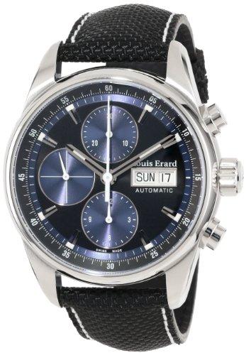 Louis Erard 78104AA12.BTD10 Heritage Reloj analógico automático para hombre, con viento automático, color negro