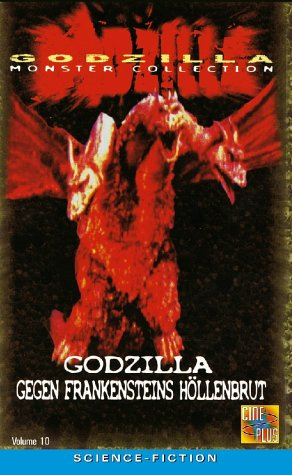 GODZILLA MONSTER COLLECTION VOL.10 - Godzilla gegen Frankensteins Höllenbrut [1 DVD]