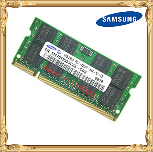 HAMISS Laptop Memory 1GB 533MHz PC2-4200 DDR2 Notebook RAM 533 4300 4200S 1G 200-pin SO-DIMM -