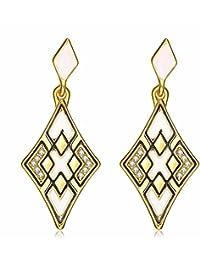 Mes-Bijoux-Bracelets Boucles d oreilles clou et puce Doré or jaune 750 000  18ct carats Cadeau femme Bijou… 31d08152f3c3