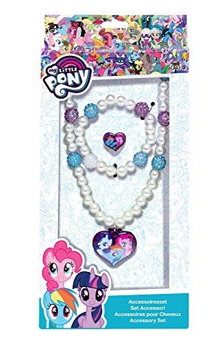 Joy Toy 95802 My Little Pony Schmuckset: Kette, Armband und 1 Ring in Geschenkverpackung, 12 x 4 x 18 cm