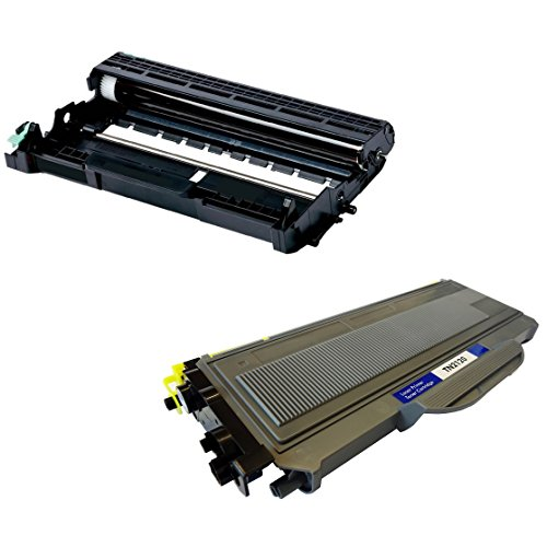 Cartridges Kingdom DR2100 Trommeleinheit & TN2120 Toner kompatibel mit Brother DCP-7030 DCP-7040 DCP-7045N HL-2140 HL-2150 HL-2150N HL-2170 HL-2170W MFC-7320 MFC-7340 MFC-7345DN MFC-7440N MFC-7840W (Brother Tn360 Cartridge Toner)