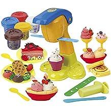 PlayGo - Set plastilina heladería/gofrería (Colorbaby 8640)