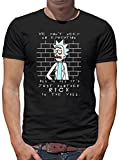 Rick in The Wall T-Shirt Herren L Schwarz