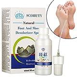 Schuhdesinfektion Spray, Fußspray, Schuhspray, Schuh-Deo, Fussspray Schuhe, Schuhdeo gegen Fußgeruch, Für hygienische Frische im ganzen Schuh, Antibakteriell,gegen Fußgeruch