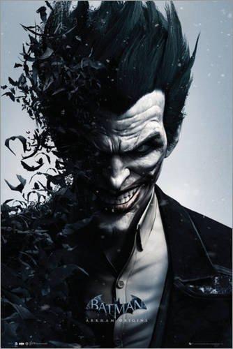 Poster Batman Origins - Joker Bats - manifesto risparmio, cartellone XXL in formato 61 x 91.5 cm