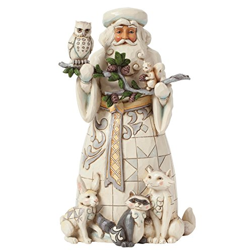 Heartwood Creek Woodland Santa Figurine -
