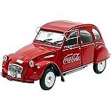 """1978 Citroën 2CV6 [Solido 1850008], """"Coca-Cola"""", Rojo, 1:18 Die Cast"""
