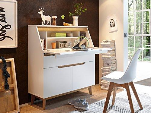 """Sekretär Schreibtsich Bürotisch Laptoptisch Arbeitstisch Tisch \""""Griffith I\"""""""