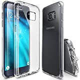 Ringke Coque Galaxy S7 Edge, [Fusion] Absorption des Chocs TPU Bumper Protection...