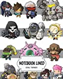 """Notebook Lined : Overwatch 01: Notebook Journal Diary, 120 Lined pages, 8"""" x 10"""""""