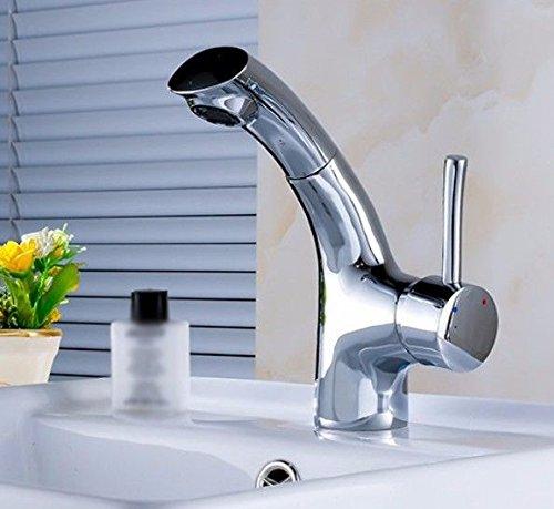 YSRBath Moderne Waschbecken Waschtischarmatur Ziehen Shampoo Mischbatterie Bad Küche Wasserhahn Badarmatur