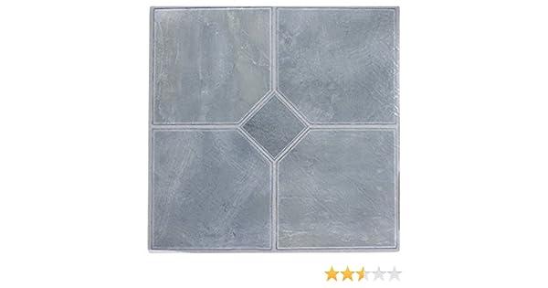 Piastrelle quadrate da pavimento in vinile autoadesive per