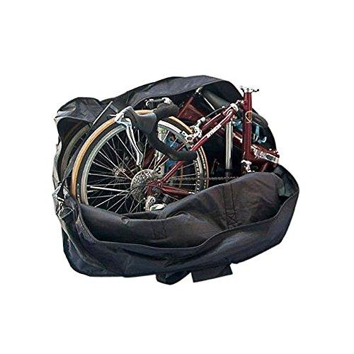 StillCool Bicicletta Pieghevole Borsa Sacchetto di Viaggio Viaggio Sacchetto di Scatola Sacchetto Spessore, Trasporto Bicicletta per Trasporto, Viaggio Aereo, spedizione (da 14 Pollici a 20 Pollici)