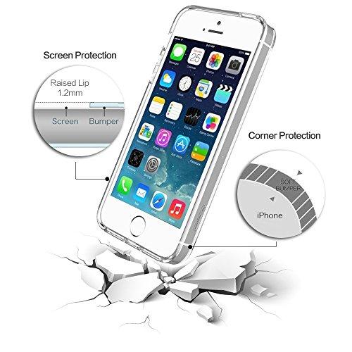 Coque iPhone 6 Plus Case, Coque iphone 6S Plus Case - Sunroyal Coque Souple Transparente TPU Silicone en Gel Flex Shell Premium Ultra Mince Skin de Protection Bumper Cover pour iPhone 6 Plus / 6S Plus Couleur Girafe