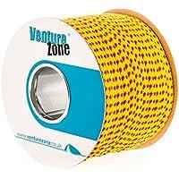 VentureZone Premium - Manta de 8 mm de diámetro, flotante y resistente a los rayos UV, rojo/amarillo, longitudes de 1, 2, 5, 20 m, Red/Yellow