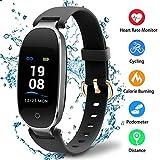 XBXB Smart Armband Bluetooth Fitness-Tracker K3 Intelligente Uhr Herzfrequenz-Überwachung Schlafüberwachung Informationen Erhalten IP67 Wasserdicht Kompatibel mit Android und IOS
