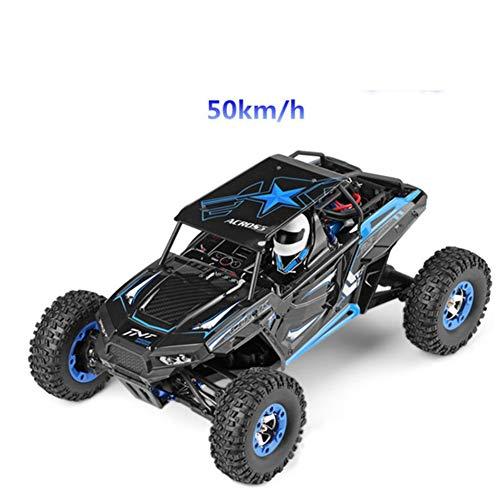 DHHZRKJ Off-Road-Graffiti-Auto 2,4 GHz 50 km/h Geländewagen Spielzeug Funksteuerung Polaris Auto 1/12 Verhältnis RC LKW 4WD Hochgeschwindigkeitsrennen (Gras-gelände)