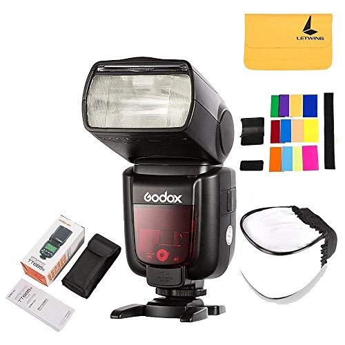 Godox TT685S GN60 TTL HSS 2.4G Blitzgerät Aufsteckblitz Speedlite for Sony Kameras (Wireless Flash Shoe Hot)