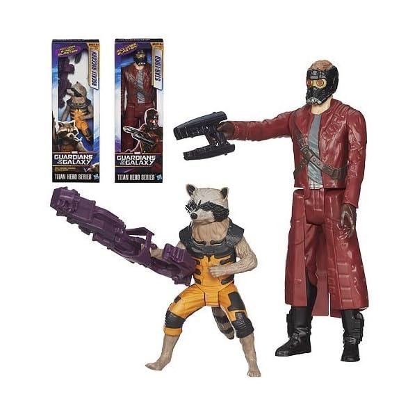 Guardians of the Galaxy Titan Hero 12-Inch Figura Ola 1 Juego 1