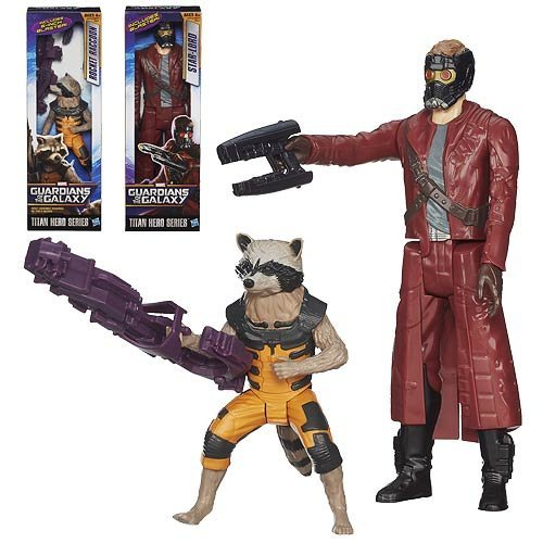 Guardians of the Galaxy Titanio Hero 12-Inch Figura Onda 1 Set