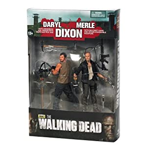 Mc Farlane - Figurine - The walking Dead - Série TV Pack Daryl et Merle Dixon serie 4 - 0787926144994 5