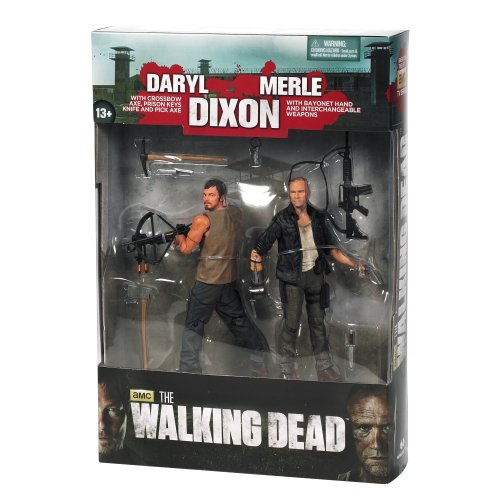 [UK-Import]The Walking Dead TV Series 4: The Dixon Brothers 2-Pack