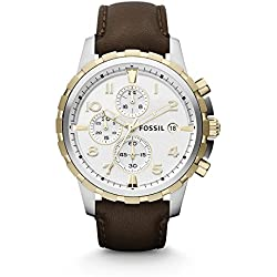 Fossil Analog Silver Dial Men's Watch - FS4788