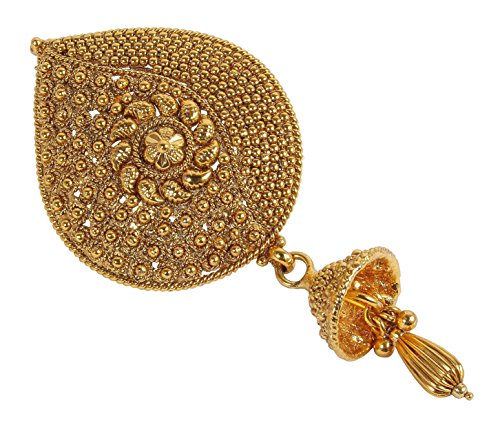 Bollywood Indien-Stil, vergoldet, ethnischer Traditionelles indisches Haar-polig, für Damen