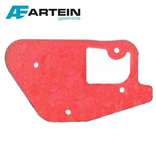 Luftfilter Filter Ersatz - Ersatzluftfilter für Yamaha BW's + CW + Spy + Slider 50ccm - MBK Booster + Stunt 50ccm + BISOMO® Sticker -