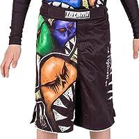 Tatami Fightwear Kinder Monsters Shorts, Schwarz-Weiß