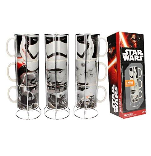 Set de 3 Mugs Star Wars - Stormtroopers