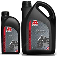 Millers Oils ZFS 4T 10W40 Aceite de Motor de Motocicleta Totalmente sintético, 5 litros