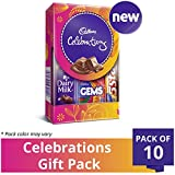 #4: Cadbury Celebrations Assorted Chocolate Gift Pack, 64.2g (Pack of 10)