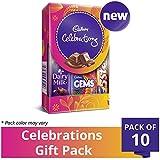 #8: Cadbury Celebrations Assorted Chocolate Gift Pack, 64.2g (Pack of 10)
