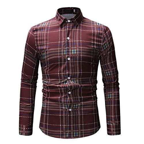 MEIbax T Shirt Camisetas para Hombre con Cuello de Solapa Camisas de...